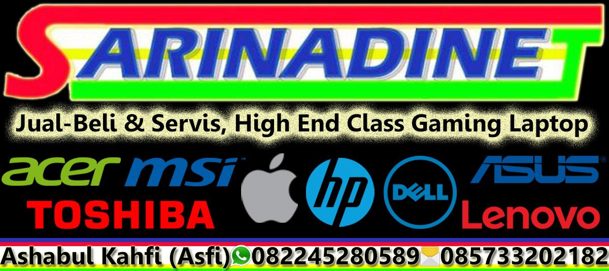 Sarinadinet High End Class Gaming Laptop Bekas Second Seken Murah Sidoarjo